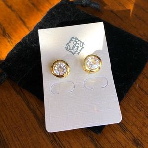 Jewelry - Gorgeous 2 Carat (total weight) CZ Stud Earrings